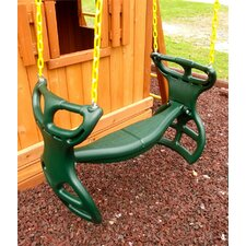 <strong>Eastern Jungle Gym</strong> Heavy Duty Plastic Horse Glider with Coated Chain