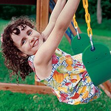 Heavy Duty Sling Swing with Coated Chain