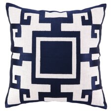 <strong>Sis Boom by Jennifer Paganelli</strong> Kara Linen Embroidered Pillow