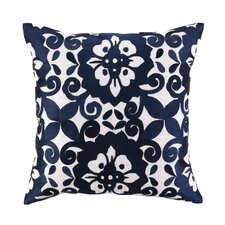 <strong>Sis Boom by Jennifer Paganelli</strong> Cassandra Linen Embroidered Pillow