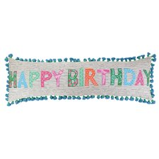 Happy Birthday Cotton Pillow