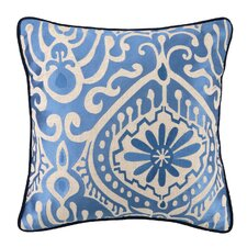 Citadel III Linen Embroidered Pillow