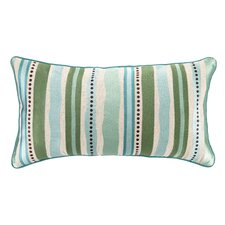 Talavera II Linen Embroidered Pillow