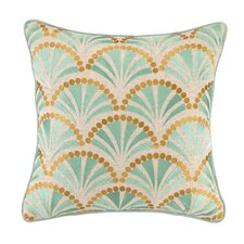 Talavera IV Linen Embroidered Pillow