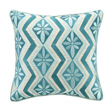 <strong>Kate Spain</strong> Bahir III Linen Embroidered Pillow