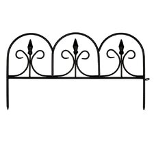 Victorian Black Fence (6 - 12 Pieces)