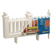 <strong>EMSCO Group</strong> Deluxe Colonial Resin Fence