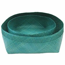 Woven Decorative Bowl 2 Piece Set