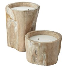 <strong>Lazy Susan USA</strong> Pepper Log Candle