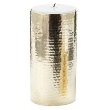 Hammered Pillar Candle