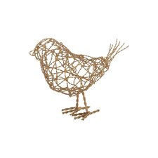 Scribble Bird Ornamental