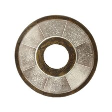 <strong>Lazy Susan USA</strong> Iris Raku Wall Décor