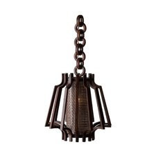 Hanging Slat Lamp