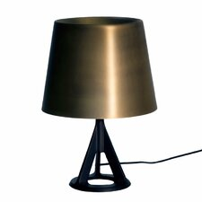 "Base 15.5"" H Table Lamp with Empire Shade"