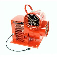 "8"" AC Electric, Portable Ventilation Blower with 1277.4 CFM"