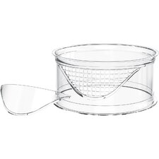 Terra Clear Riser with Solid and Mesh Insert