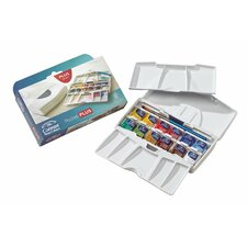 Cotman Watercolor Paint 12 Piece Pocket Plus Set