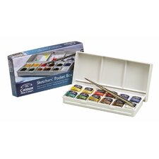Cotman Watercolor Paint Sketchers Pocket Box (Set of 12)