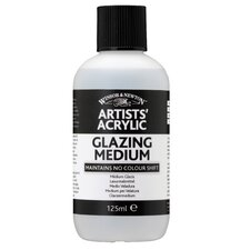 Artists' Acrylic Glazing Medium Bottle (Set of 3)