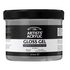 Artists Acrylic Gloss Gel Mediums Jar
