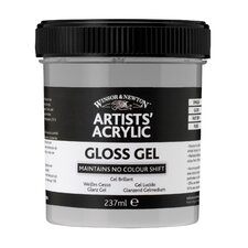 Artists Acrylic Gloss Gel Mediums Jar