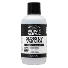 Artists' Acrylic Gloss Uv Varnish Bottle (Set of 3)