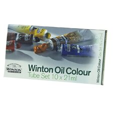 <strong>Winsor & Newton</strong> Winton Oil Color Paints Basic Tube Set