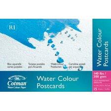 Cotman Watercolor Paper Postcard Pad (Set of 6)