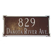 Estate New Yorker Address Plaque