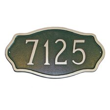 Estate Hampton Address Plaque