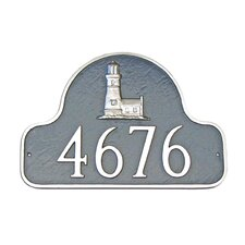 Lighthouse Arch Address Plaque