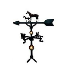 Deluxe Mare and Colt Weathervane