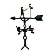 Deluxe Lamplighter Weathervane