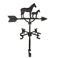 <strong>Montague Metal Products Inc.</strong> Mare and Colt Weathervane