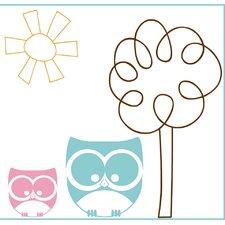 Canvas/Magnet Owl Family Canvas Art