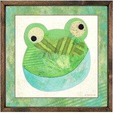 Frog Framed Art