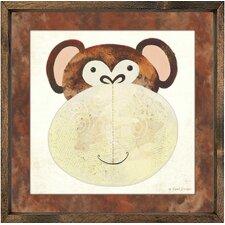Monkey Framed Art