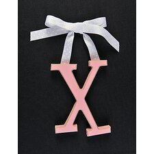 Letter X Hanging Initial