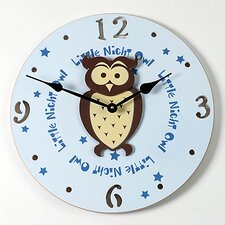 Owl Kid Clock