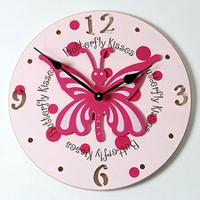 "18"" Butterfly Wall Clock"