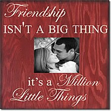 Friendship Isn't a Big Thing, It's a Million Little Things Memory Box
