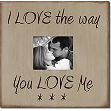I Love the Way You Love Me Memory Box