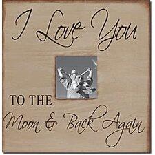 I Love You to the Moon & Back Again Memory Box