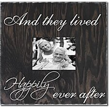 And They Lived Happily Ever After Memory Box