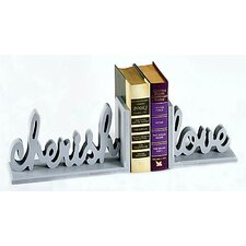 Cherish Love Book Ends (Set of 2)