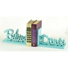 Believe Dance Book Ends (Set of 2)