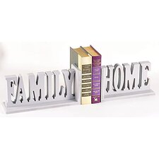 Family Home Book Ends (Set of 2)