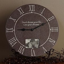 "22"" Picture Frame Table Clock"