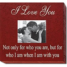 I Love You... Home Frame