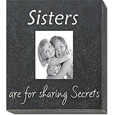 <strong>Forest Creations</strong> Sisters Are For Sharing Secrets Home Frame